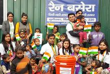 """Volunteer at Homeless Shelters / We strongly believe that if our surrounding and environment is clean our country will be """"A better World"""" with this ideology on the occasion of Republic Day, 26th Jan 2017; we donate some basic essential items in homeless shelters of Delhi to make their shelter clean and hygienic. We enjoyed talking and spending time with the people and children there. Everyone was very open and friendly. Children were so sweet and affectionate."""