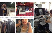 AW14 Behind the scenes / Behind the scenes with Ziera - Autumn/Winter Campaign Shoot