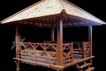 gazebo / gazebo  Diseño, producción y fabricación exclusiva y ecológica por www.comprarenbali.com
