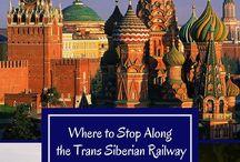 Trans Siberian Railway Trip