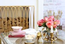 Styling coffee and end tables