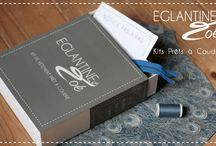 Notre Concept / Plus besoin d'être couturière professionnelle, ni de savoir construire ou décoder un patron pour virevolter dans une robe cousue de vos mains. Eglantine et Zoé vous propose des kits de vêtements prêts à coudre.