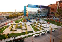 DF/ Healthcare Landscape by DAMON FARBER / Healthcare Landscapes designed by Damon Farber Landscape Architects
