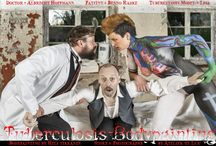 Tuberculosis Bodypainting / Let's call the doc at the sanatorium - the tuberculosis is coming! A theatrically story visualised by a bodypaint. See the fight of a doctor against a deadly disease around the early 1890's.