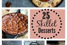 skillet meals and desserts