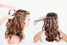 Grads hairs / Hairstyles that I personally like, and I might do for an occasion, like prom , graduation , and parties and many more