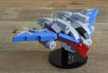 lego micro space ship