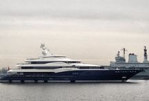 Super Yachts / Design of the Ultimate Luxury / by Jenni Button