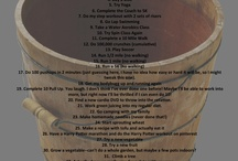 40 things to do when I turn 40 / by Shannon Hans Sellers