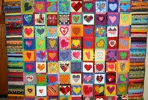 Fabricaholic-Hearts / by Gail