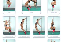 pole dance / Pole dance  beginner moves