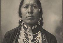 indiens d'amerique portraits