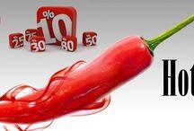 Promocje / Wypatruj uważnie gorących ofert cookstore. Już wkrótce prawdziwy wysyp mocno pikantnych cen na wybrane towary! Nie przegap!