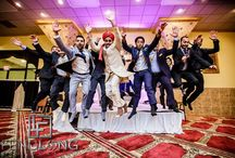 Photos with Indian bridesmaids, groomsmen and friends / Pictures You Must Get with all Your Friends! Photographs are Memories for a Lifetime