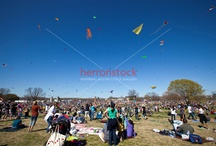 Zilker Park Kite Festival in Austin, Texas  / The Zilker Park Kite Festival is one of Austin's best-known annual events. Held on the first Sunday of March, it is the kick-off to the hundreds of springtime activities in Austin.  The Zilker Park Kite Festival is America's oldest continuous Kite Festival in Downtown Austin, Texas.