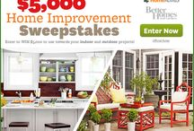 I love sweeping! / The contests I enter, come on in, you might win too. / by The Frugal Exerciser