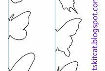 Modelo de borboleta
