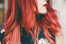 Red hair♡