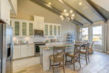 Beazer Kitchens / In many cases the home is centered around the kitchen. Look here for beautiful kitchens, recipes, cooking tips and gear.