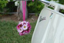 Vespa / Vespa for wedding photoshoot