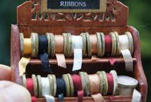 rubans dentelles bobines