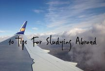 Study Abroad / My first time across the Atlantic was for a semester abroad. I love everything about getting a global education!