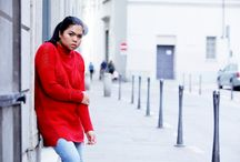 OOTD: Je M'en Fous Red Sweater and Loafers
