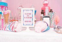 "Sweet Table ""Ice cream"" parlour"