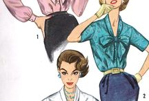 1950s Blouse Inspiration