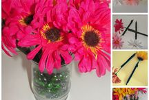 Flowers DIY's,Crafts and Ideas
