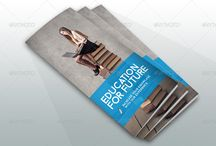 School Brochure Template PSD / Schools need brochures to build a strong reputation and popularity among the public.These school brochure templates are used to build a professional and creative brochures for schools. If you are designing a brochure for school then you should be careful because it is about the reputation of school. Present your design on professional brochure template to impress the clients.