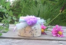 Etsy Shop / Here are some products from my etsy shop. Bath salts, soaps, and whipped body frosting.  All handmade.   www.etsy.com/shop/elleselations