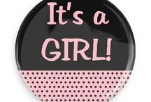 New Baby Buttons / Funny Buttons - Custom Buttons - Promotional Badges - New Baby Pins - Wacky Buttons