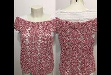 Top blouse d'Alextitia