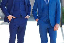 Feelin' Blue / A classic blue suit is always a winner and our Rambo Three Piece Suit comes in a range of blues so you are sure to find the right one for you.