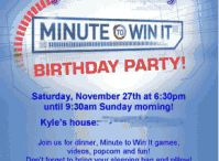 Birthday Party ideas / by Kelly Childress