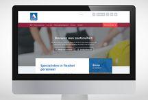 Aelbers / Uitzendbureau Aelbers verzorgt en bemiddelt met succes flexibel personeel voor bijna alle grote namen in de bouw en infra. We dachten en ontwierpen mee aan een website die de kracht van deze specialist laat zien.