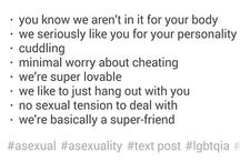 lgbt(mostly ace or panromantic things)