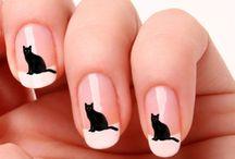 nails / ciekawe wzory w malowaniu paznokci