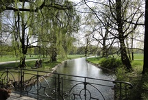 Mountains, lakes and rivers in Munich and near Munich / The alps, isar, parks and other green spots in Munich and surround