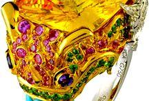Kleurig / Kleurige stoffen, kleuren en stijlen.