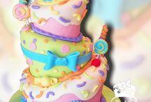 Whimsical / Topsy Turvy / by Faithfully Cakes