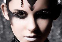 Avante Garde / Avante Garde Editorial Makeup Hair