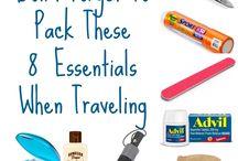 Imprimibles y organizadores para viajeros