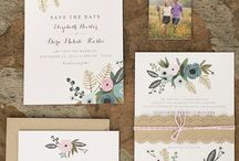 Wedding invitations and other paper goods