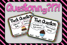 QARs / Ideas for teaching question-answer relationships in the elementary classroom / by Primary Junction