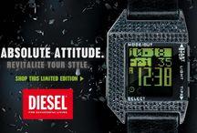 Νεανικά και μοντέρνα ρολόγια DIESEL!!!!