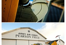 Pearson Air Museum Wedding, Vancouver, Washington