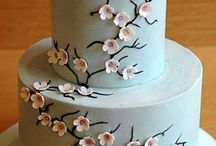 Cherry Blossom cakes / by Fancy Fondant Cakes by Emily Lindley
