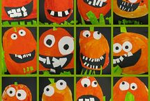 Trick or Treat? / Halloween themed art and craft activities for kids // Preschools, Schools or get creative at home.